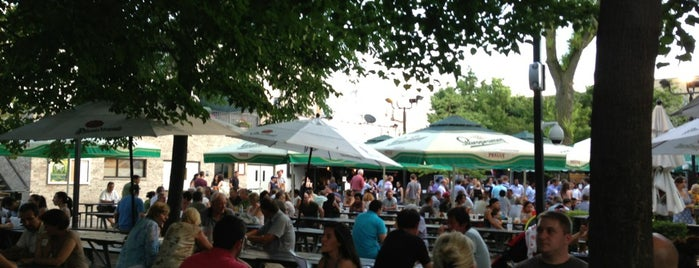 Bohemian Hall & Beer Garden is one of The Best Places to Drink Outdoors in New York.