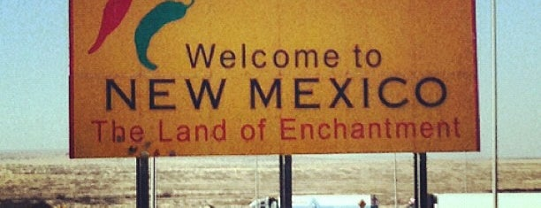 Texas/New Mexico State Line is one of Amber 님이 좋아한 장소.