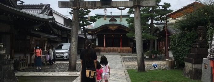 Kyoto-Ebisu-Jinja Shrine is one of Lugares favoritos de Shigeo.