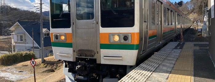 Gumma Ōtsu Station is one of JR 키타칸토지방역 (JR 北関東地方の駅).