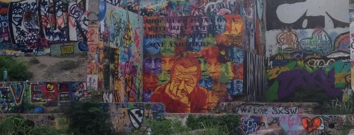 Obey Mural is one of Austin.