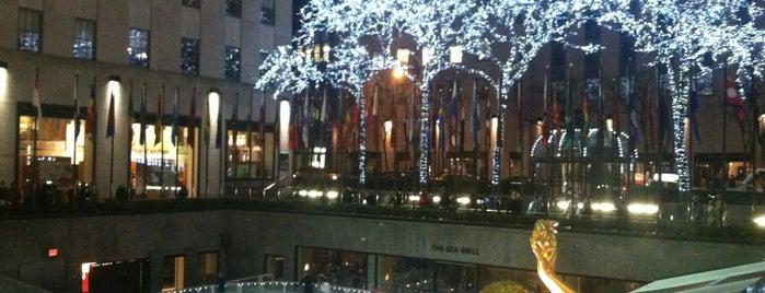 Rockefeller Center is one of Manhattan Favorites.