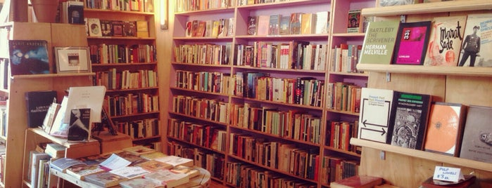 Topos Bookstore Cafe is one of Explore your own neighborhood, jerk..