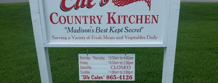 Cal's Country Kitchen is one of Nashville.