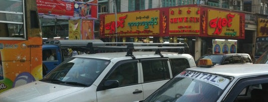 China Town is one of Yangon.