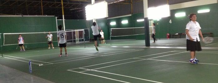 สนามแบดมินตันเสนา is one of Badminton Court.
