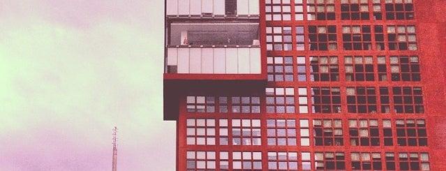 Tribunal Superior de Justicia de la Ciudad de México - Juzgados de lo Familiar is one of Rascacielos en la Ciudad de México..