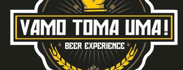 Vamo Toma Uma - Beer experience is one of Preciso visitar - Loja/Bar - Cervejas de Verdade.