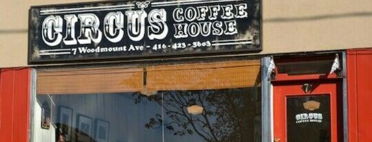 Circus Coffee House is one of Toronto, Coffee.
