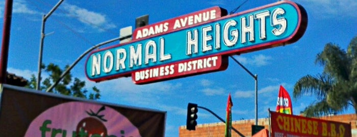 Normal Heights is one of Guide to San Diego's best spots.