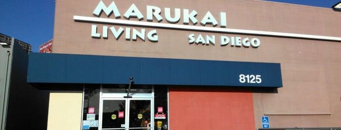 Marukai Living is one of San Diego.