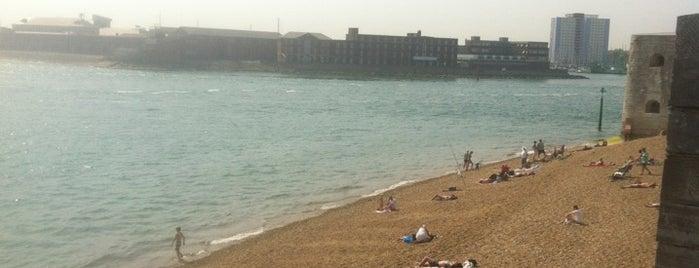 Southsea Seafront is one of Orte, die Carl gefallen.