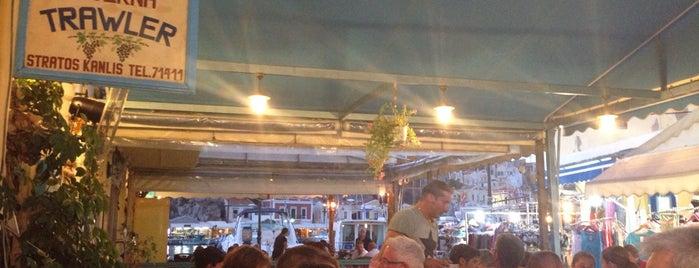 Taverna Trawler is one of Symi.
