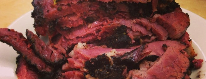 Katz's Delicatessen is one of 2013 Michelin Bib Gourmand.