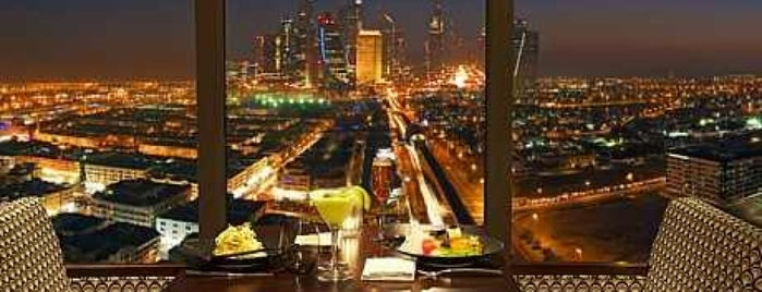 Kris with a view is one of Dubai.