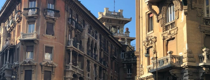 Quartiere Coppedé is one of Rome.