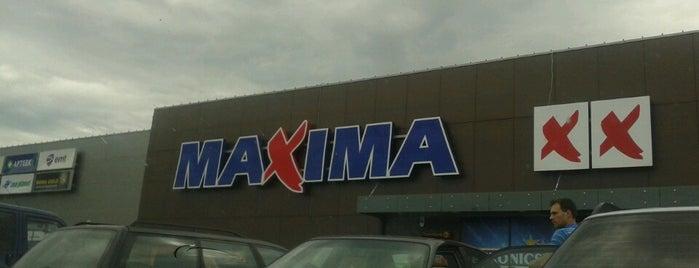 Maxima XX is one of Lielveikali Latvijā.