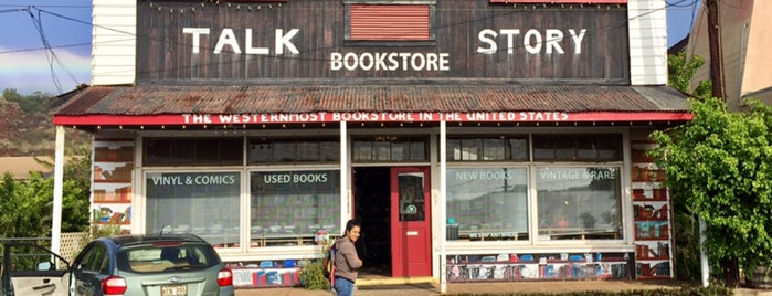 Talk Story Bookstore is one of Bookshops - US West.