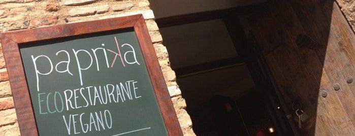 Restaurante Vegetariano Páprika is one of สถานที่ที่บันทึกไว้ของ Kübra.