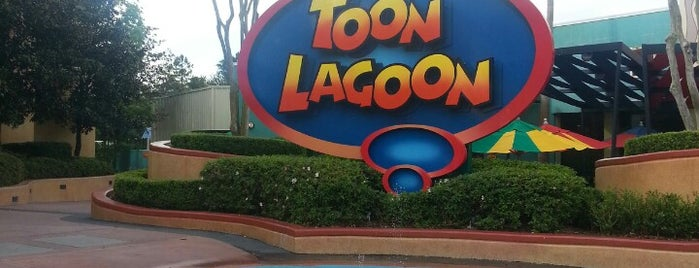 Toon Lagoon is one of Locais curtidos por M..