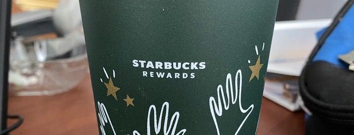 Starbucks is one of Tempat yang Disukai Sandy M..