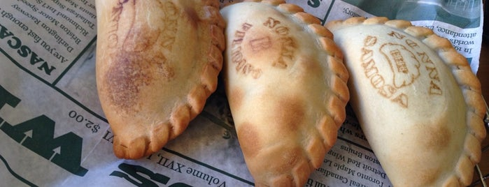 Nonna's Empanadas is one of favorite.