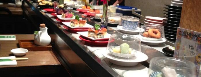 Sakura Kaiten Sushi is one of สถานที่ที่บันทึกไว้ของ Alex.