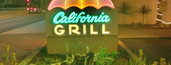 California Grill is one of Places to eat in SoCal.