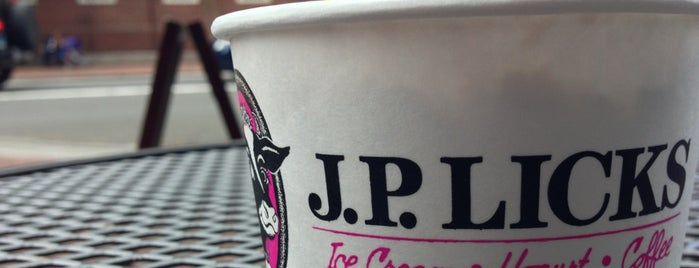 J.P. Licks is one of Boston.