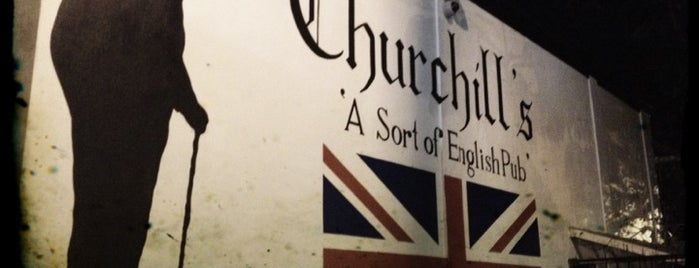 Churchill's Pub is one of Esquire's Best Bars (A-M).