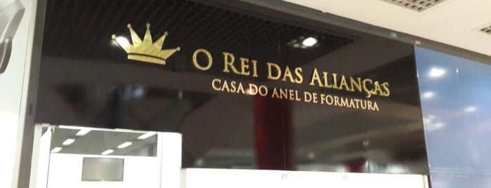 3e08d53d8f O Rei das Alianças is one of Shopping Metrô Boulevard Tatuapé.