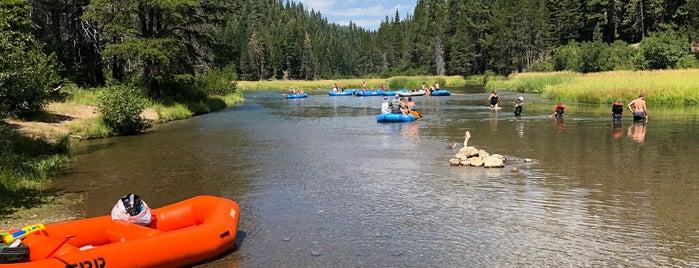 Truckee River is one of Tahoe.