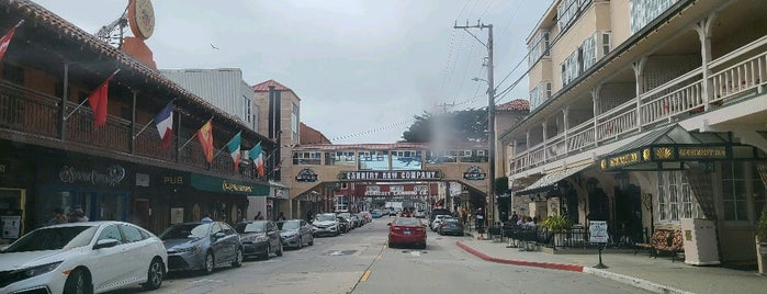 Cannery Row is one of Monterey.