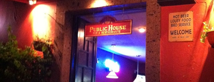 Public House is one of San Juan Del Rio.