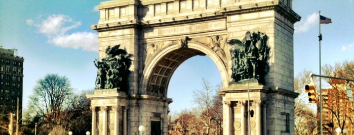 Grand Army Plaza is one of Big Apple.