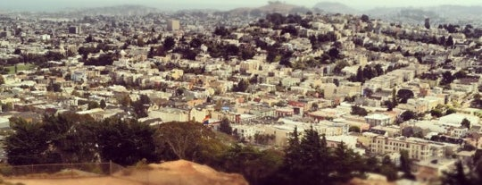 Corona Heights Park is one of Hidden places in SF.