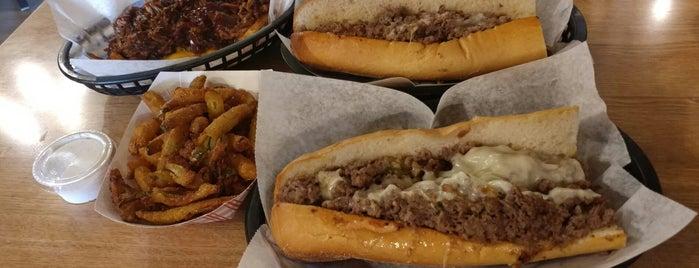 Mac's Philly Steaks is one of Babymoon ❤️🤰🏼👨👩👦.