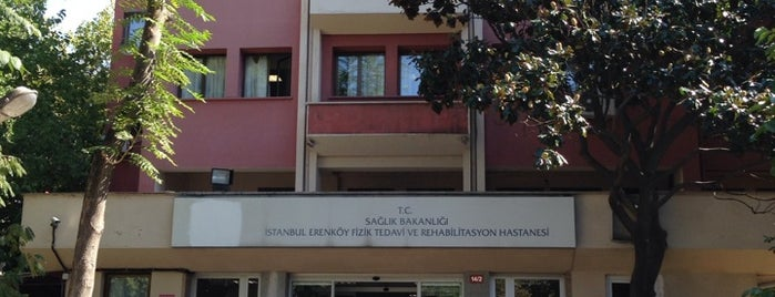 Erenköy Fizik Tedavi ve Rehabilitasyon Hastanesi is one of İnfo.
