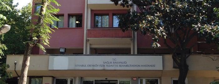 Erenköy Fizik Tedavi ve Rehabilitasyon Hastanesi is one of İnfo.