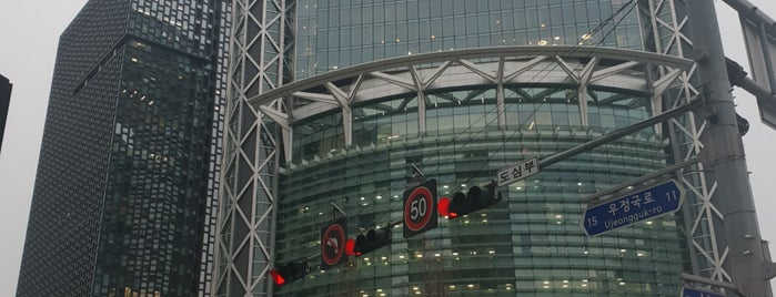 Jongno Tower is one of shopping centers.