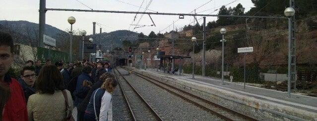FGC Monistrol de Montserrat is one of Lugares favoritos de Peter.