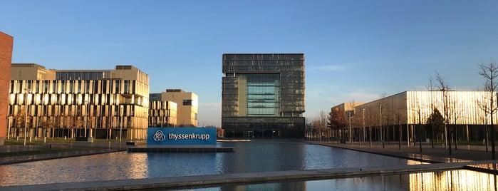 ThyssenKrupp Quartier is one of Orte, die Thorsten gefallen.