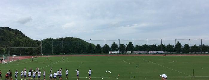 藤枝総合運動公園陸上競技場 is one of Takashi : понравившиеся места.