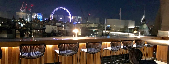 The Trafalgar St. James London, Curio Collection by Hilton is one of London roof terraces.