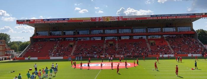 Stadion An der Alten Försterei is one of Orte, die Georg gefallen.