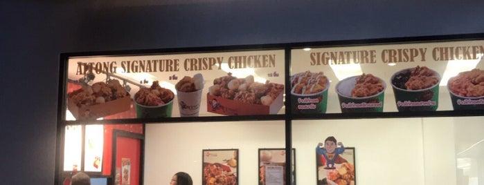 Korean Crispy Chicken is one of Posti salvati di Vladimir.