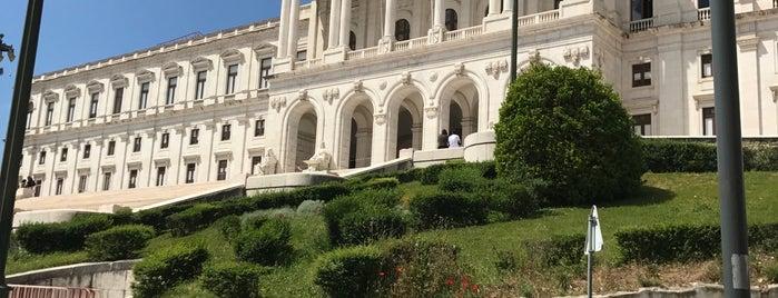 Jardim da Assembleia da República is one of Pedro : понравившиеся места.