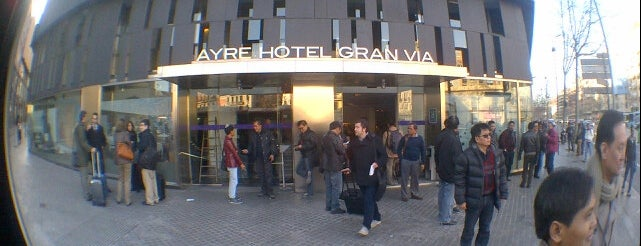 Ayre Hotel Gran Via Barcelona is one of Barcelona a hacer.