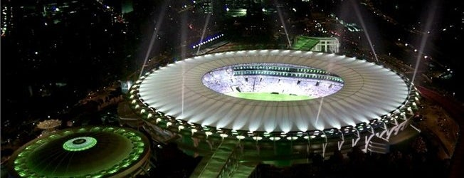 Stade Maracanã is one of Lieux sauvegardés par Dade.