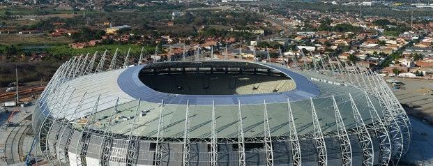 Arena Castelão is one of Copa das Confederações da FIFA Brasil 2013.